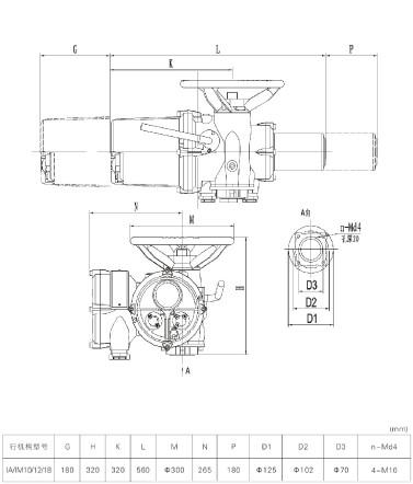 iq智能调节型罗托克电动执行器
