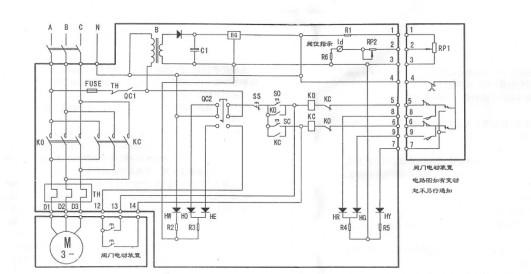 bfa-1型电动阀门控制器