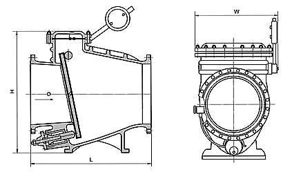 微阻缓闭止回阀用于给排水管道,安装在水泵出口处用来防止