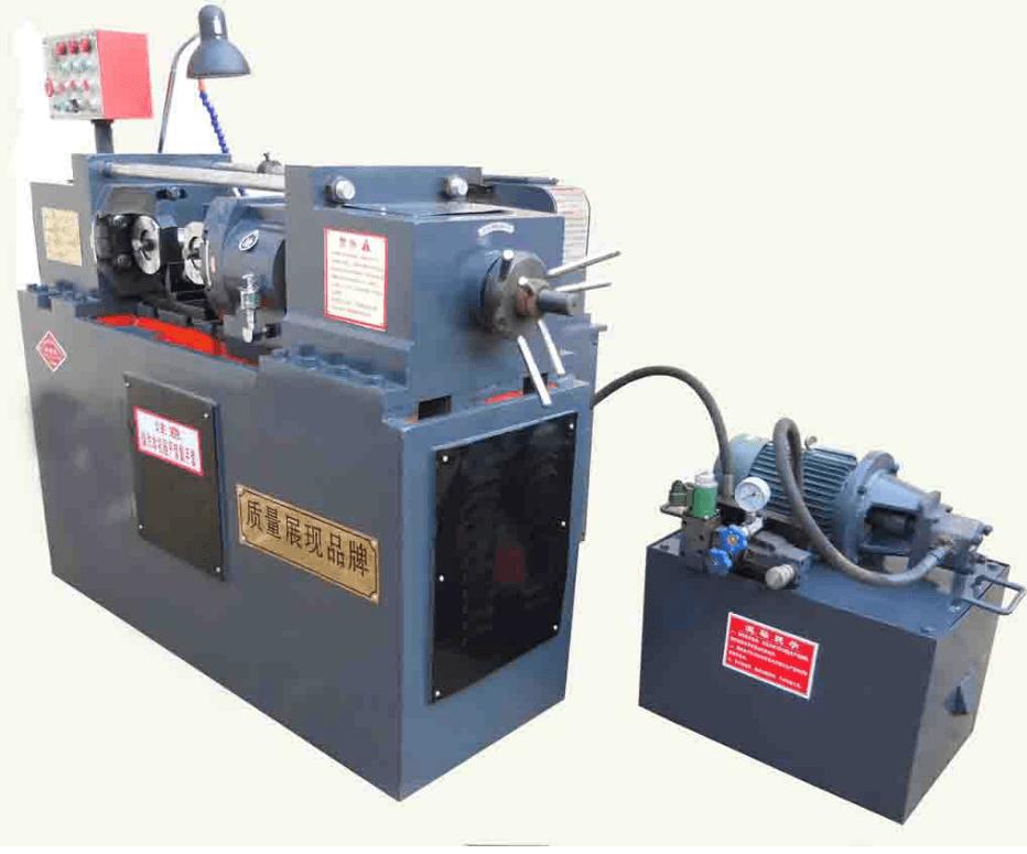 【滚丝机】 ——液执行和控制系统,可使每一个工作循环在手动,半自动