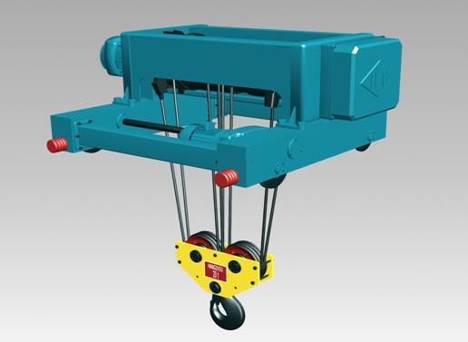 电机采用锥形转子制动电动机