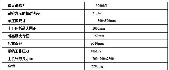 压力试验,也可用于高强度混凝土的抗压强度试验