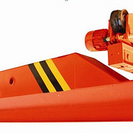 河南巨人起重机 3T/14.5mLX电动单梁悬挂起重机