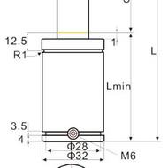 美森氮气弹簧MQC2.5系列HR300系列